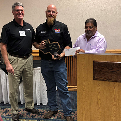 Photo of 2019 Technician of the Year Recipient Michael Kerfoot
